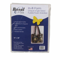 Bosal In-R-Form Single Sided Fusible Foam Stabilizer 18in x 58in