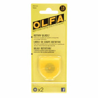 Olfa 18mm Rotary Cutter Replacement Blade 2 pack