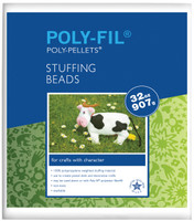 Polypropylene Weighted Stuffing Beads - 2lb bag