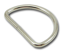 Silver D-ring