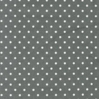 Grey Tiny Dots Flannel - 1/2 yard