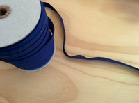 "Navy Double fold Bias Tape 1/2"" – Sold by the yard"