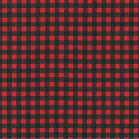 Red Beaver Plaid - RK cotton - 1/2 yard