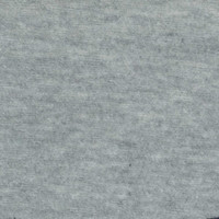 Heather Grey 10oz Cotton/Lycra - 1/2 yard