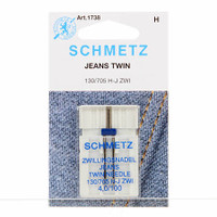 Schmetz Twin Jean Machine Needle
