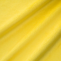 Canary Minky Smooth - 1/2 yard