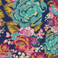 Acqua Di Rose Boho Art Gallery Knit - 1/2 yard