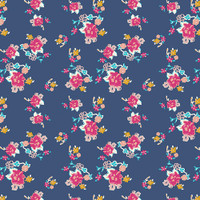Bohemian Charms Abloom - Art Gallery Cotton - 1/2 yard