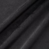 Extra Wide Black Smooth Minky - 1/2 yard