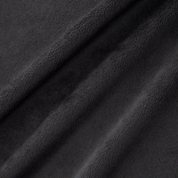 Extra Wide Black Smooth Minky - 1/2 yard
