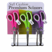 "Soft Cushion Premium 8.5"" Scissors - 1 pair of Pink"