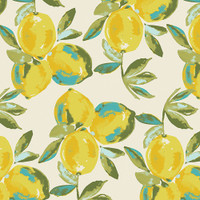 Yuma Lemons Art Gallery Knit - 1/2 yard