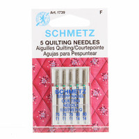 Schmetz Quilting Machine Needle Sizes 11/75 & 14/90 (5 pack)