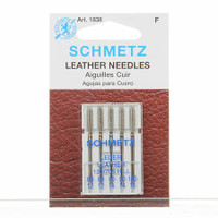 Schmetz Leather Machine Needles Size 80/90/100 (5 pack)