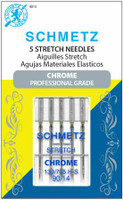 Chrome Stretch Schmetz Needles 90/14 (5 pack)