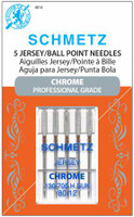 Chrome Jersey Schmetz Needles Size 80/12 (5 pack)
