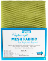 Mesh Lite Weight Apple Green - 18x54""