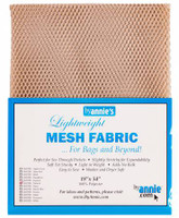 Mesh Lite Weight Natural - 18x54""