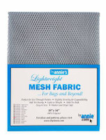 Mesh Lite Weight Pewter - 18x54""