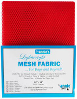 Mesh Lite Weight Atomic Red - 18x54""
