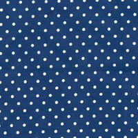 Navy Tiny Dots Flannel - 1/2 yard