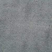 Alloy Grey Sherpa Cuddle - 1/2 yard