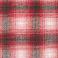 Red/White/Grey Plaid Mammoth Flannel - 1/2 yard