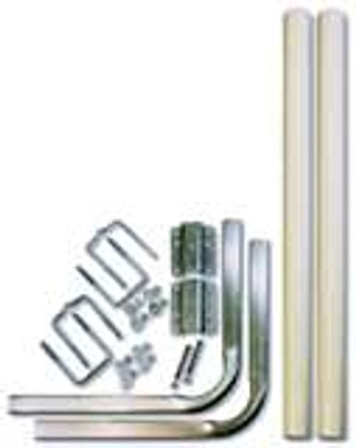 Heavy Duty Tube PVC Guide Post Kit For Channel Or Box Tube
