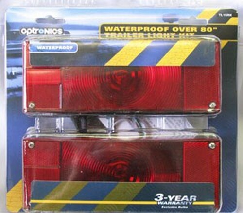 Optronics Waterproof Trailer Light Kit