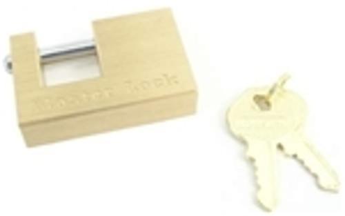 "Master Lock Brass Coupler Latch Lock 3/4"""