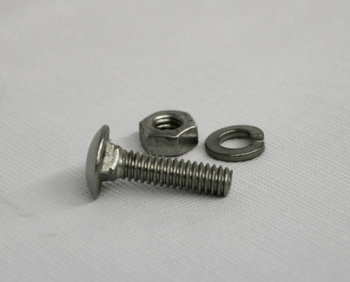 """3/8"""" Stainless Steel Carriage Bolts"""
