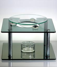 Modern-Art Glass Oil Burner