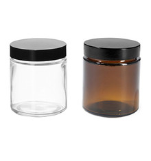 4 oz Glass Jars with caps