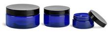 4oz Cobalt Blue PET Jar