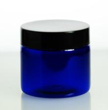 2oz Cobalt Blue PET Jars