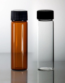 3 Dram Glass Vials (10ml) With Caps