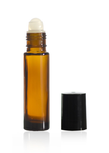 10ml 1 3oz Amber Roll On Bottles True Essence