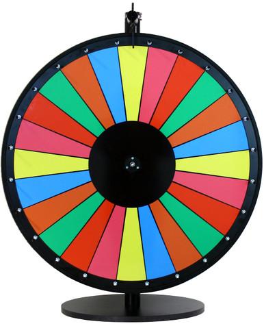 Colorful Dry Erase Prize Wheels Prize Wheel Depot