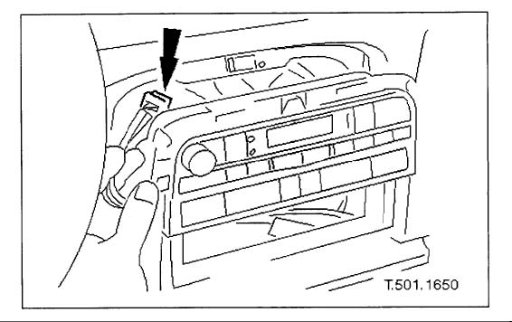 1997-2006 Jaguar XK8 Climate Controller Removal Instructions