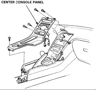 Acura NSX Climate Control Removal Instructions