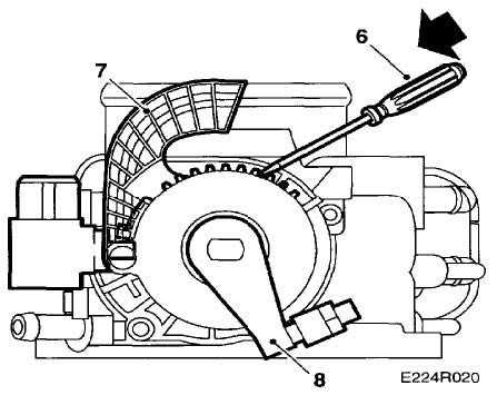 Corvette Ignition Switch Removal on 1985 corvette throttle body diagram