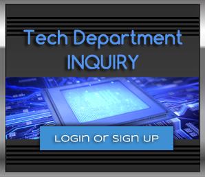 Tech Department Inquiry