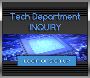 Tech Department Inquiry