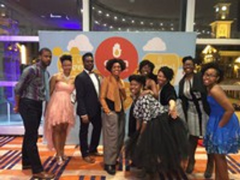 Oyin at Target 2014! Too Much Fun at our launch party.