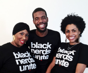 Black Nerds Unite: Classic Black Unisex T-Shirt