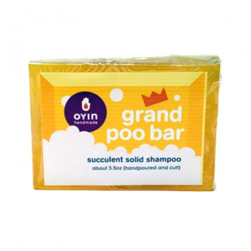 Grand Poo Bar ~ succulent solid shampoo