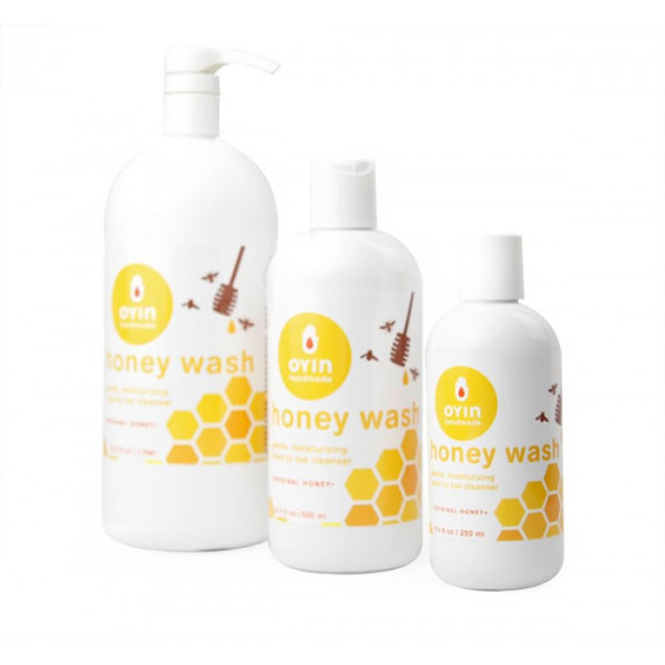 Honey Wash ~ gentle, moisturizing head to toe cleanser
