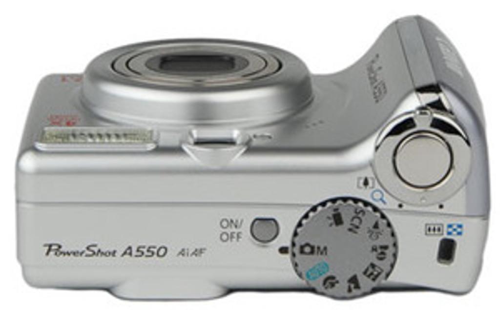 Canon A550 PowerShot Digital Camera
