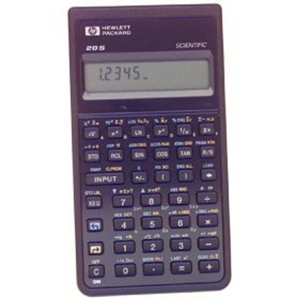 HP-20S Scientific Calculator