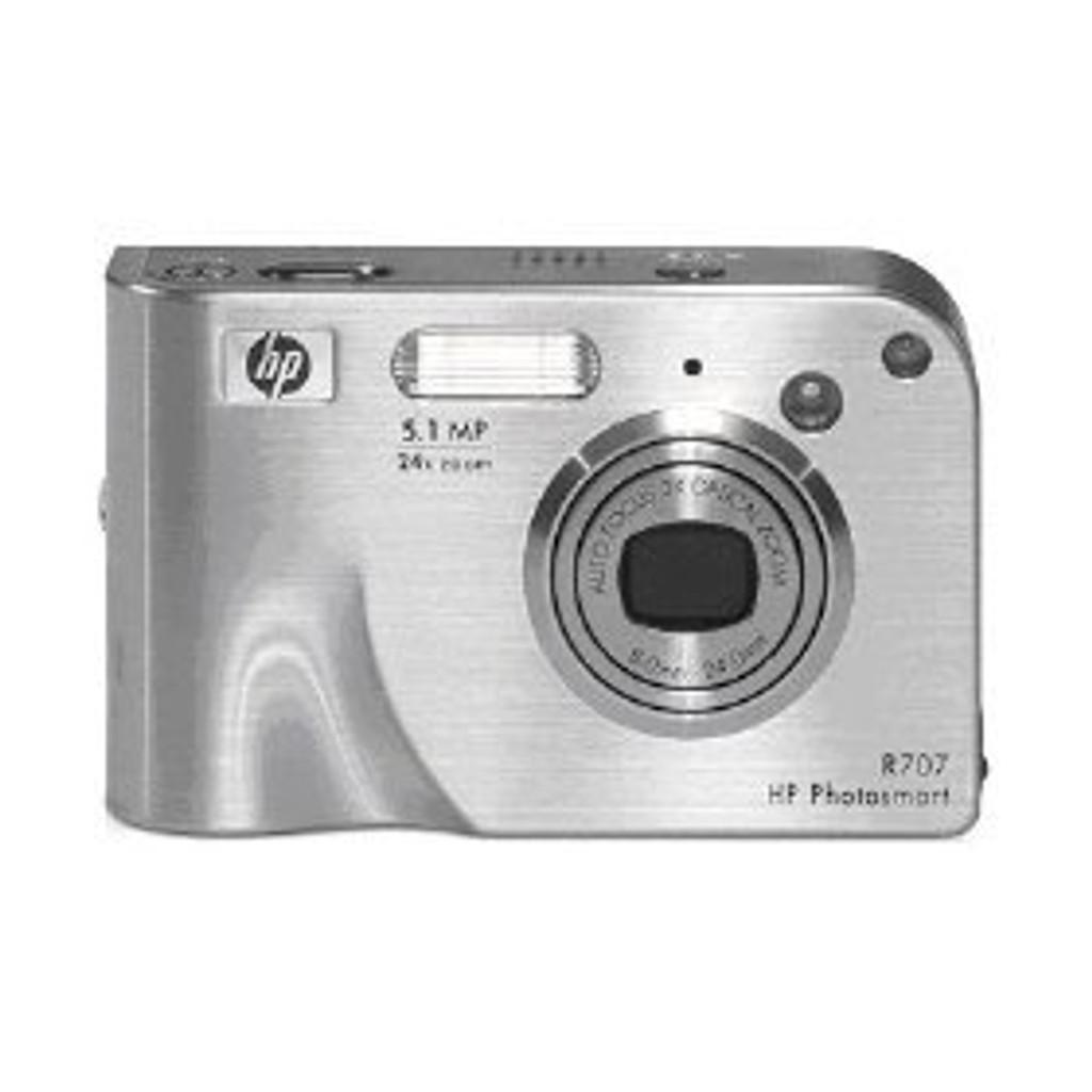 HP Photosmart R707 5MP Digital Camera